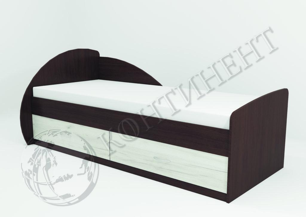 Ліжко односпальне V-13 - (2035 х 960 х 850) - (сп.м. 2000 х 800)