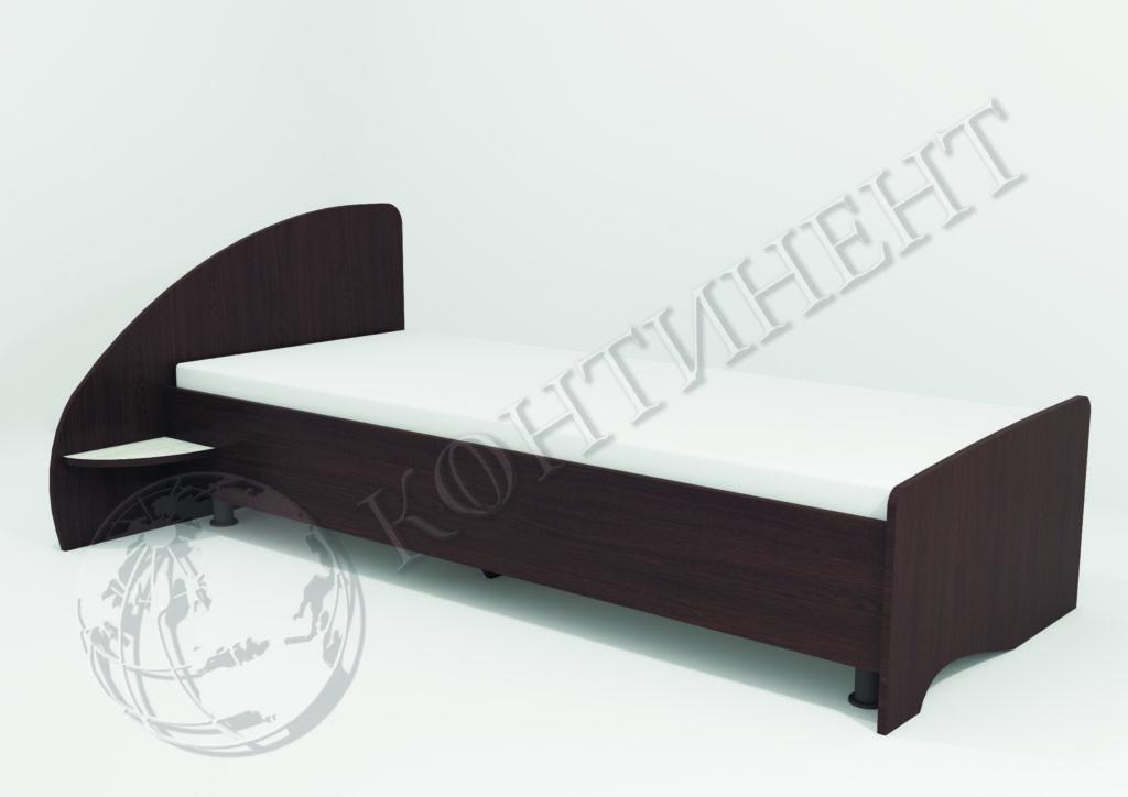 Ліжко односпальне V-8 - (2035 х 1120 х 760) - (сп.м. 2000 х 800)