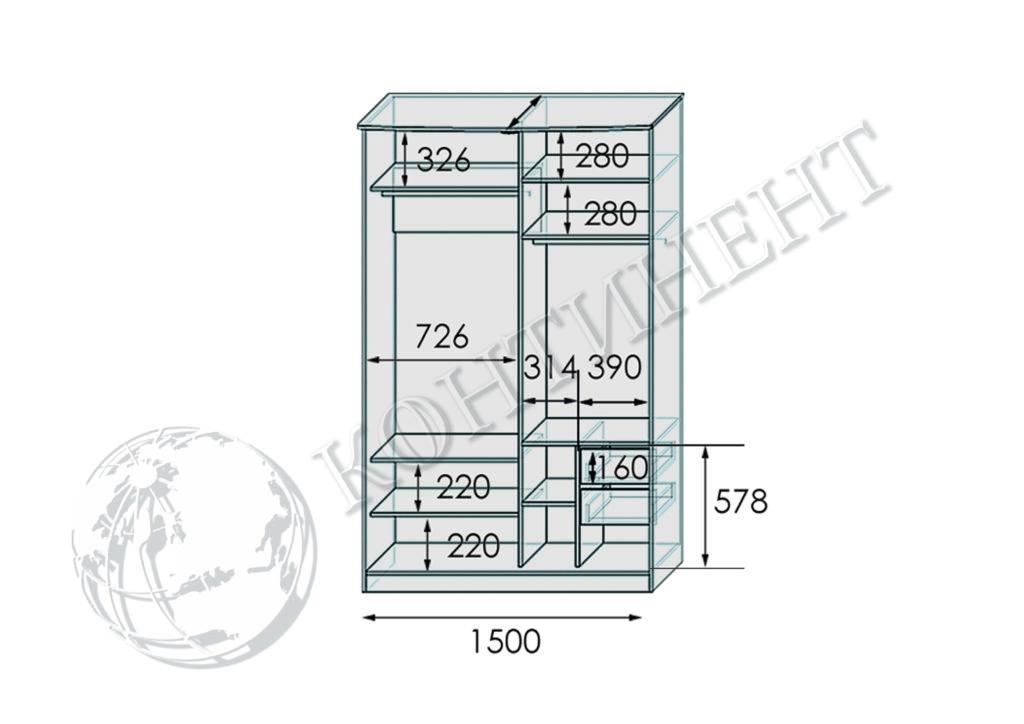 ШК-N-1500 схема