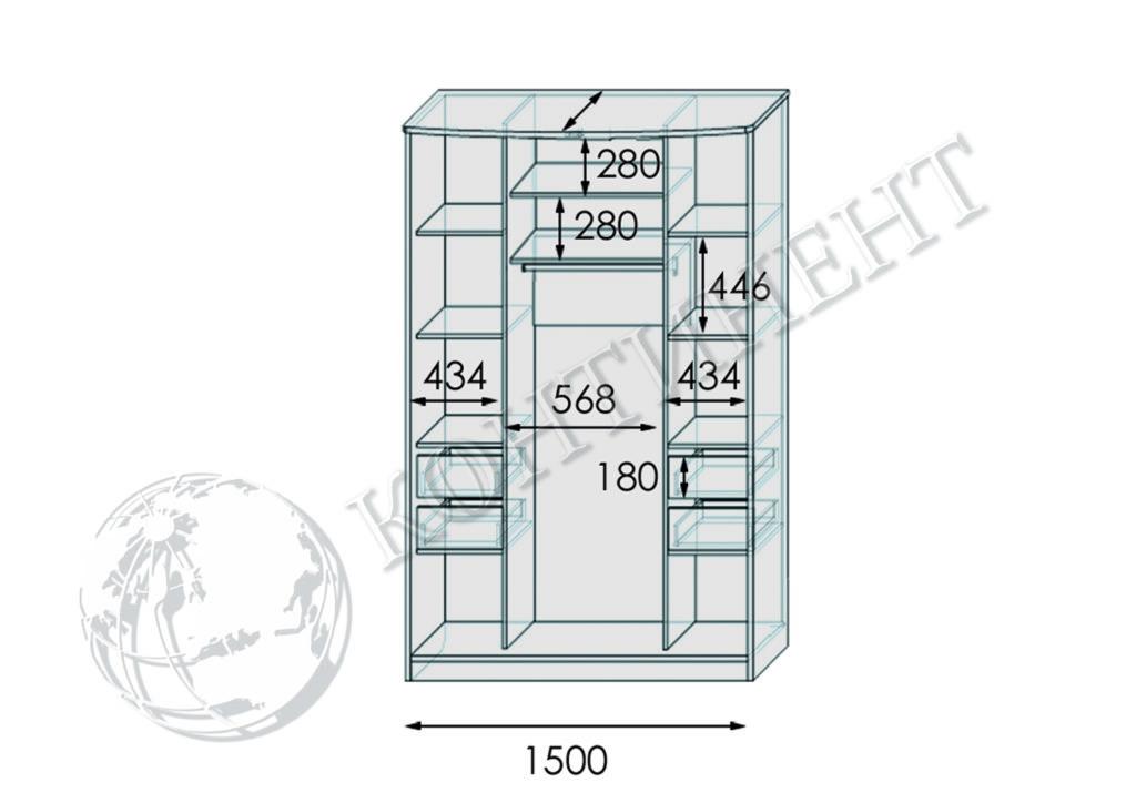 ШК-Я-4 - 1500 схема