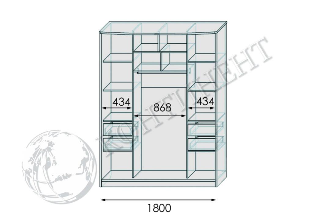 ШК-Я-4 - 1800 схема