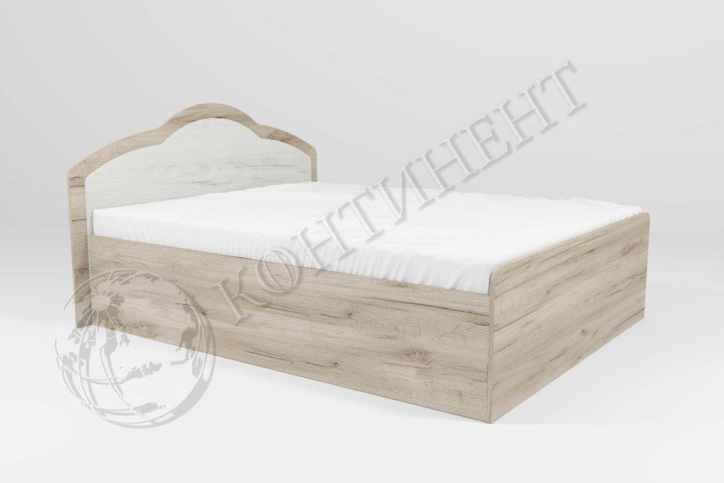 Ліжко Діана без ящиків (1460 х 2035) (Сп. м. 1400 х 2000); (1660 х 2035) (Сп. м
